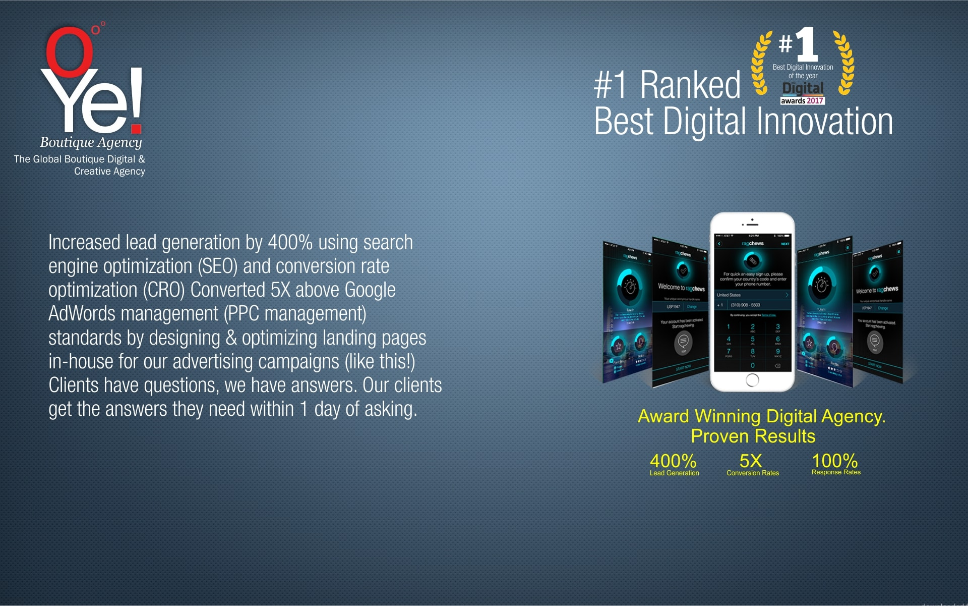 1 Ranked Best Digital Innovation